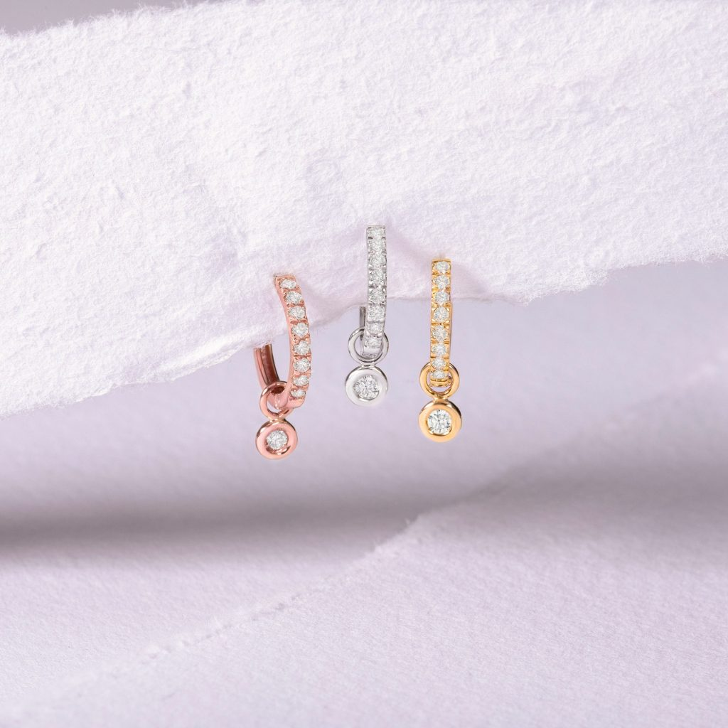 Charms by Mumit chatón de diamantes sobre papel