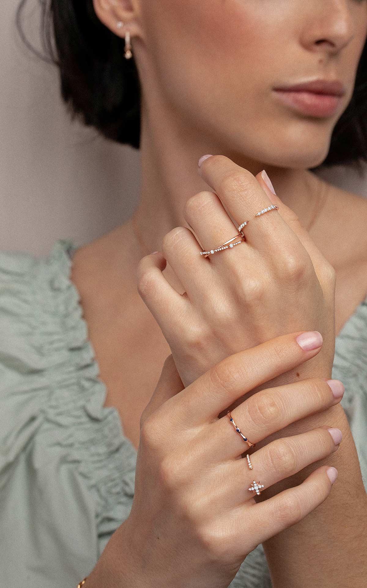 El uso de los quilates en joyería ejemplo sortijas de oro